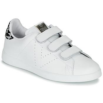 Pantofi Femei Pantofi sport Casual Victoria TENIS VELCRO PIEL Alb