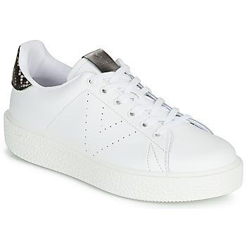 Pantofi Femei Pantofi sport Casual Victoria UTOPIA RELIEVE PIEL Alb