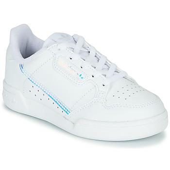 Pantofi Copii Pantofi sport Casual adidas Originals CONTINENTAL 80 C Alb / Albastru