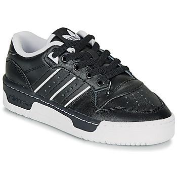 Pantofi Copii Pantofi sport Casual adidas Originals RIVALRY LOW J Negru