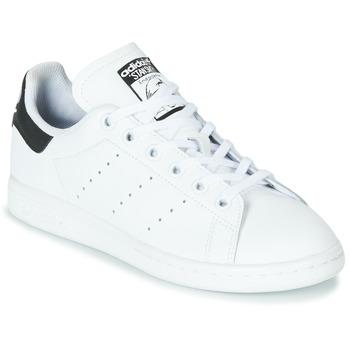 Pantofi Copii Pantofi sport Casual adidas Originals STAN SMITH J Alb / Negru