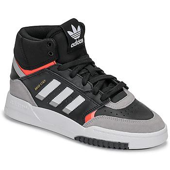 Pantofi Băieți Pantofi sport stil gheata adidas Originals DROP STEP J Negru / Gri