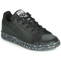 Pantofi Copii Pantofi sport Casual adidas Originals STAN SMITH C Negru