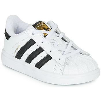 Pantofi Copii Pantofi sport Casual adidas Originals SUPERSTAR I Alb / Negru