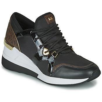 Pantofi Femei Pantofi sport Casual MICHAEL Michael Kors LIV TRAINER Negru / Maro