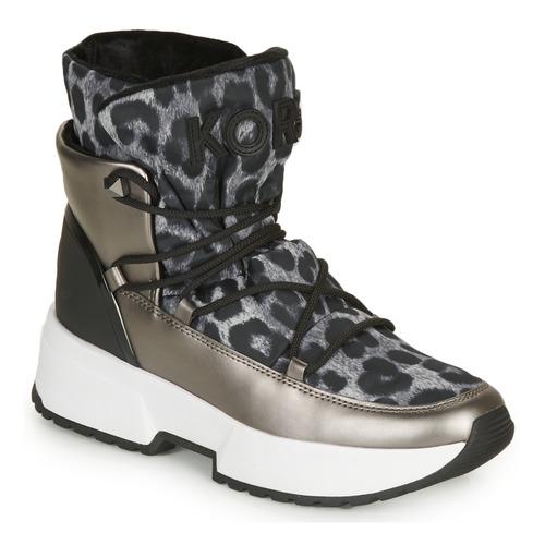 Pantofi Femei Cizme de zapadă MICHAEL Michael Kors CASSIA BOOTIE Leopard