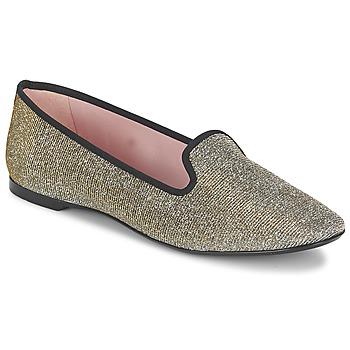 Pantofi Femei Balerin și Balerini cu curea Pretty Ballerinas FAYE Mettalic / Shine