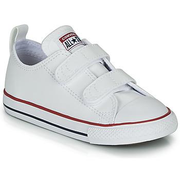 Pantofi Copii Pantofi sport Casual Converse CHUCK TAYLOR ALL STAR 2V - OX Alb