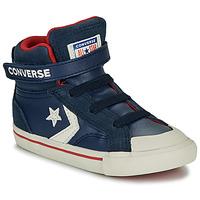 Pantofi Copii Pantofi sport stil gheata Converse PRO BLAZE STRAP - HI Navy