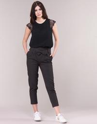 Îmbracaminte Femei Pantalon 5 buzunare Betty London LAALIA Negru / Alb
