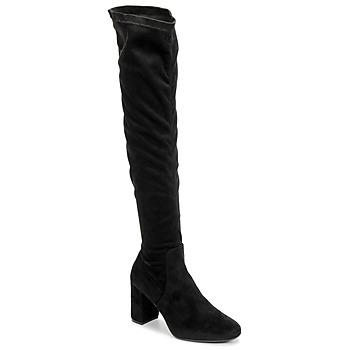 Pantofi Femei Cizme lungi peste genunchi Betty London LAHNA Negru