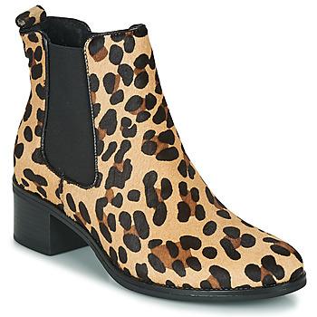 Pantofi Femei Botine Betty London HASNI Leopard