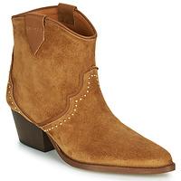 Pantofi Femei Botine Betty London LOUELLA Camel
