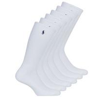 Accesorii Bărbați Sosete Polo Ralph Lauren ASX110 6PK CR PP-CREW-6 PACK Alb