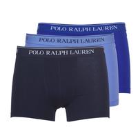 Lenjerie intimă Bărbați Boxeri Polo Ralph Lauren CLASSIC-3 PACK-TRUNK Albastru