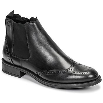 Pantofi Bărbați Ghete Carlington LEVOTO Negru
