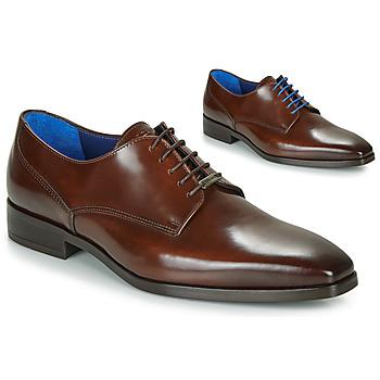 Pantofi Bărbați Pantofi Derby Azzaro POIVRE Maro