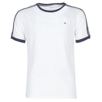 Îmbracaminte Bărbați Tricouri mânecă scurtă Tommy Hilfiger AUTHENTIC-UM0UM00563 Alb