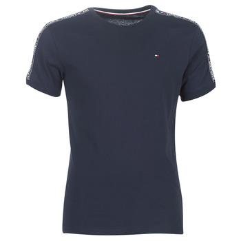 Îmbracaminte Bărbați Tricouri mânecă scurtă Tommy Hilfiger AUTHENTIC-UM0UM00562 Bleumarin