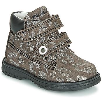 Pantofi Fete Ghete Primigi ASPY 1 Gri / Argintiu