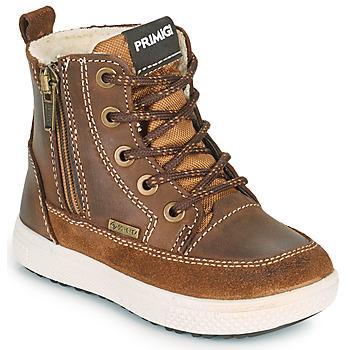 Pantofi Băieți Cizme de zapadă Primigi BARTH GORE-TEX Maro