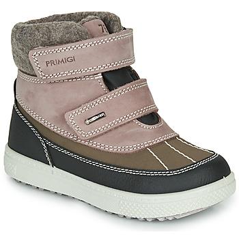 Pantofi Fete Cizme de zapadă Primigi PEPYS GORE-TEX Uzat / Roz / Maro