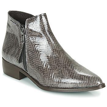 Pantofi Femei Ghete Ippon Vintage STING HILL Gri / Lac