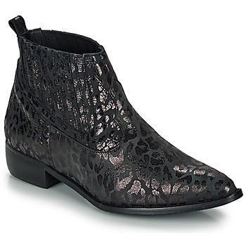 Pantofi Femei Ghete Ippon Vintage GILL ARTY Negru