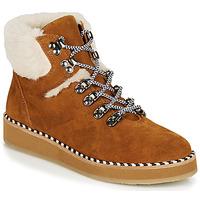 Pantofi Femei Ghete Ippon Vintage RIDE LAND Camel