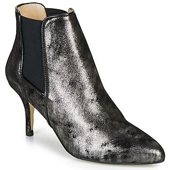 Pantofi Femei Botine Ippon Vintage SILVER LAKE Negru / Argintiu