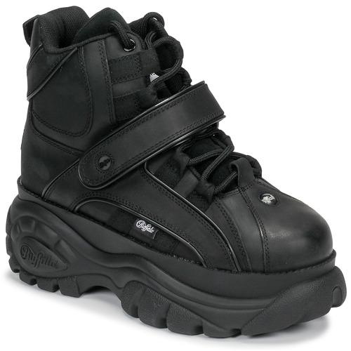 Pantofi Femei Pantofi sport stil gheata Buffalo 1348 Negru