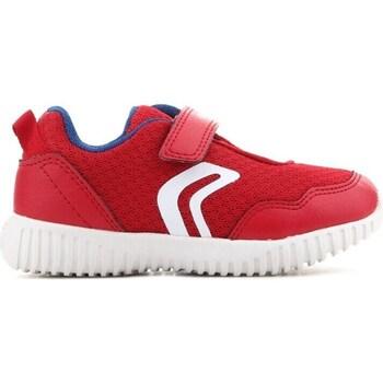 Pantofi Copii Pantofi sport Casual Geox B Waviness Roșii