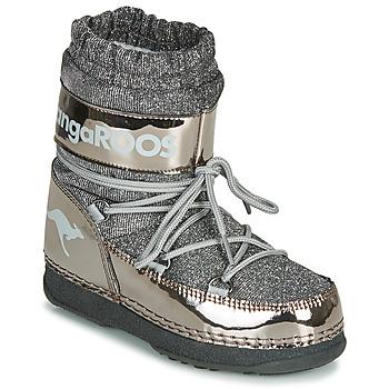 Pantofi Femei Ghete Kangaroos K-MOON Gri