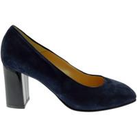 Pantofi Femei Pantofi cu toc Soffice Sogno SOSO9350bl blu