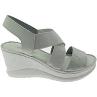 Pantofi Femei Sandale  Riposella RIP40811gr grigio