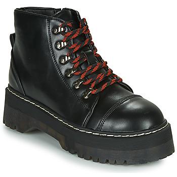 Pantofi Femei Ghete Coolway ABLIS Negru / Roșu