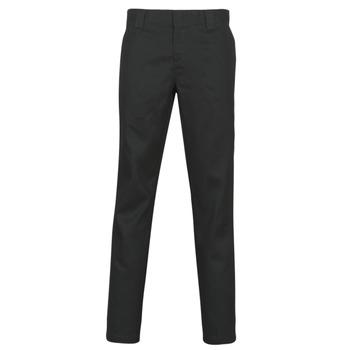 Îmbracaminte Bărbați Pantalon 5 buzunare Dickies SLIM FIT WORK PNT Negru