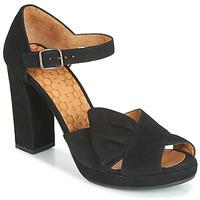 Pantofi Femei Sandale și Sandale cu talpă  joasă Chie Mihara BAMBOLE Negru