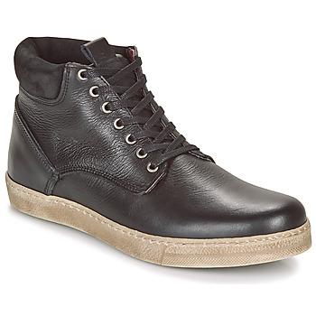 Pantofi Bărbați Ghete Casual Attitude LEO Negru