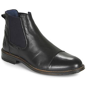 Pantofi Bărbați Ghete Casual Attitude JANDY Negru