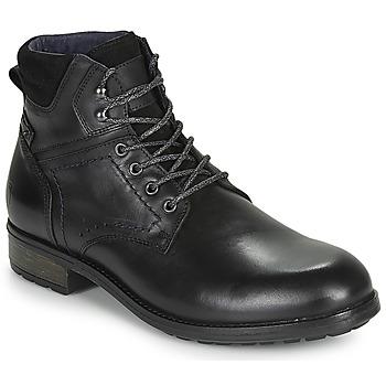 Pantofi Bărbați Ghete Casual Attitude LULLY Negru