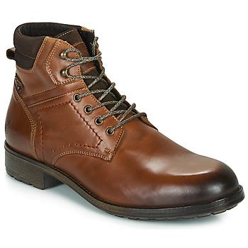 Pantofi Bărbați Ghete Casual Attitude LULLY Coniac