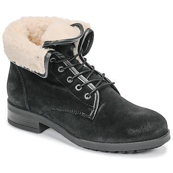 Pantofi Femei Ghete Casual Attitude LEILA Negru