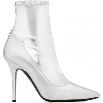 Pantofi Femei Cizme casual Giuseppe Zanotti I870030 001 argento