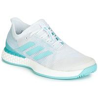 Pantofi Femei Trail și running adidas Performance ADIZERO UBERSONIC 3M X PARLEY Alb / Albastru