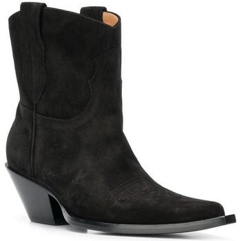 Pantofi Femei Cizme casual Maison Margiela S58WU0221 PR047 nero