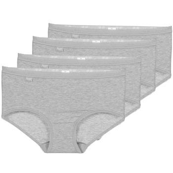 Lenjerie intimă Femei Chiloți Sloggi BASIC+ X 4 Gri