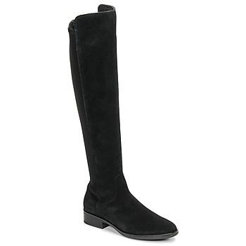 Pantofi Femei Cizme lungi peste genunchi Clarks PURE CADDY Negru