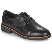 Pantofi Femei Pantofi Derby Clarks GRIFFIN LANE Negru