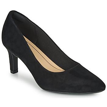 Pantofi Femei Pantofi cu toc Clarks CALLA ROSE Negru